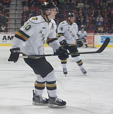 Description de l'image Christian Dvorak - London Knights.JPG.