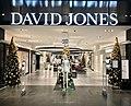 Christmas trees at David Jones, Pacific Fair, Queensland, Australia in 2017.jpg