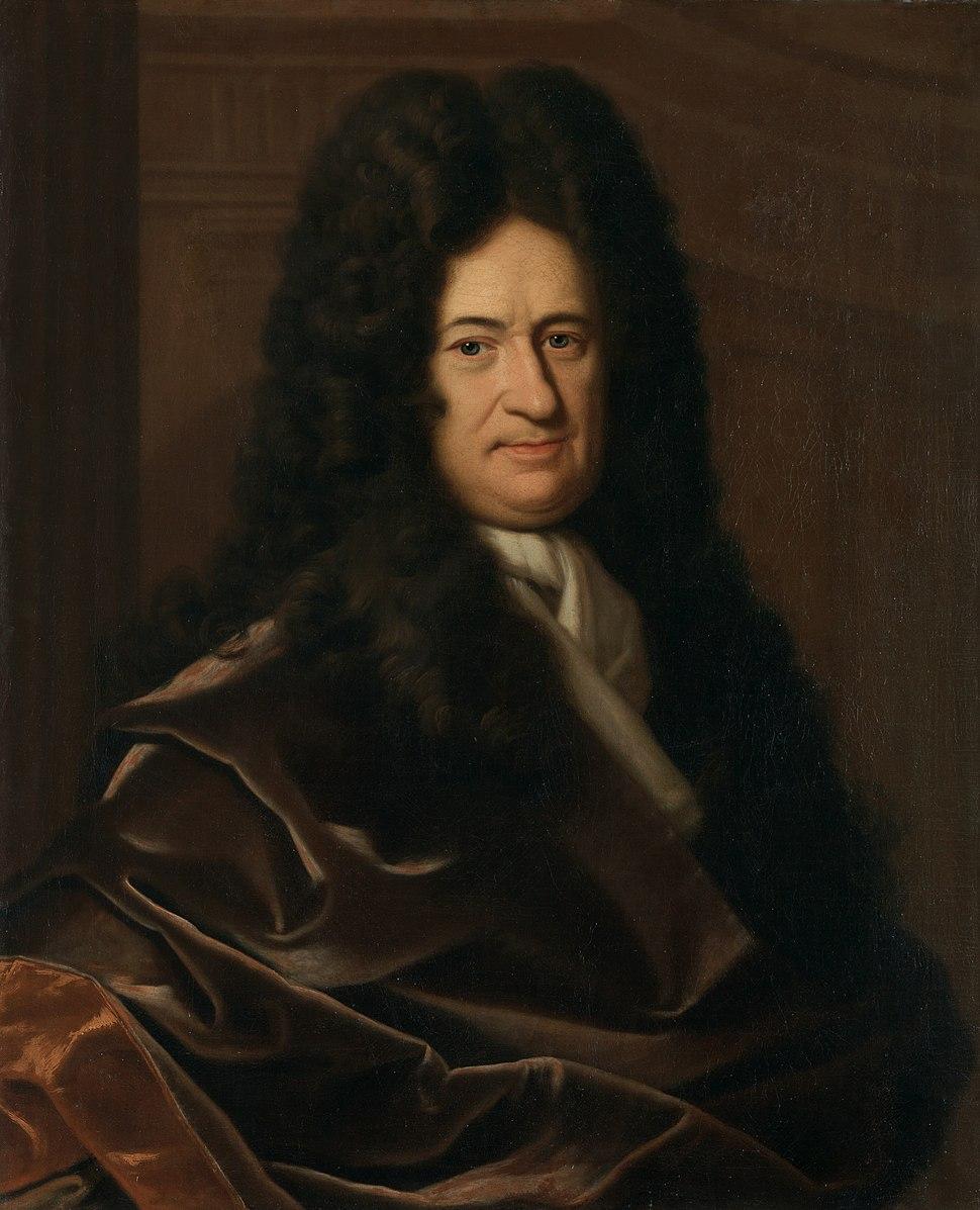 Christoph Bernhard Francke - Bildnis des Philosophen Leibniz (ca. 1695)