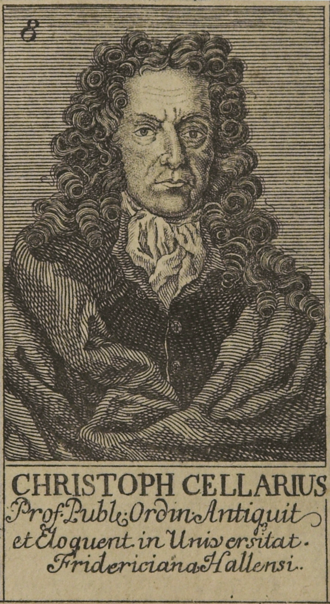 Christoph Cellarius - Christoph Cellarius.