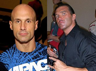 The Addiction (professional wrestling) - Daniels (left) and Kazarian (right)