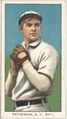 Christy Mathewson, New York Giants, baseball card portrait LCCN2008675155.tif