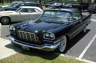 Exner's 1957 Chrysler 300C had a lasting impact on car styling in Detroit Chrysler 300C.jpg