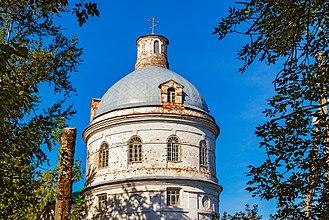Karagaysky District - Church in Karagai, Karagansky District