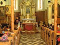 Church of Saint Catherine of Alexandria in Woźniki interior.JPG