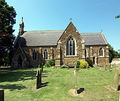 Church of St. Mary and St. Peter, Ludford Magna - geograph.org.uk - 200790.jpg