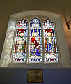 Church of St Mary Little Easton Essex England nave FitzRoy window.jpg