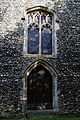 Church of St Mary and St Christopher, Panfield - tower west window and door.jpg