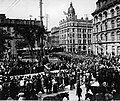 Church parade of 5th Battalion, Victoria Square, Montreal.jpg