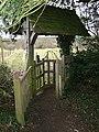 Churchyard lych gate - geograph.org.uk - 1086868.jpg