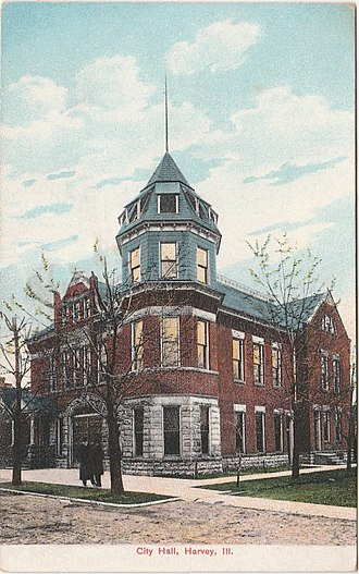 Harvey, Illinois - Old City Hall