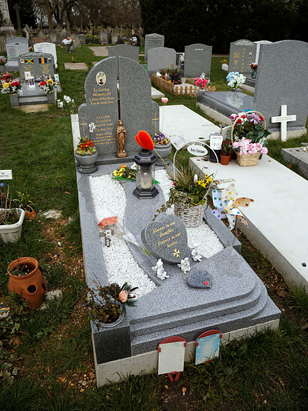 Granite Grave Slabs : File city of london cemetery and crematorium granite