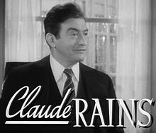 Claude Rains a Now Voyager