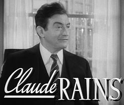 Claude Rains i Under nya stjärnor (1942).