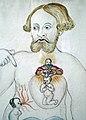 Clemens Ziegler-Le combat de l'âme dans le corps d'un homme (1532)(détail).jpg