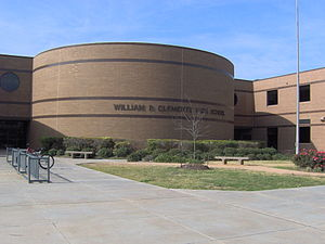 Bill Clements - Clements High School in Sugar Land, Texas