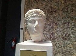 Cleopatra Selene II bust, Cherchell, Algeria, 3.jpg
