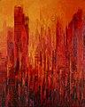 Clo Baril Nature et Architecture15 (huile sur toile 130x90).jpg