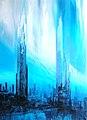 Clo Baril Nature et Architecture19 (huile sur toile 130x90).jpg