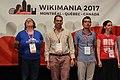 Closing ceremony Wikimania 2017 IMG 5681.JPG