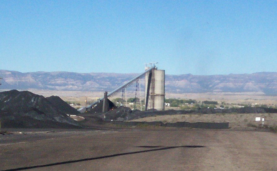 Coal Mine in Carbon County, Utah