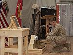 Coalition Forces Honor Fallen EOD Marine, Friend DVIDS334804.jpg