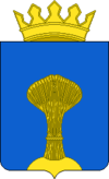 Coat of arms of Demjanskas rajons