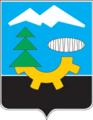 Coat of Arms of Karpinsk (Sverdlovsk oblast) (1973).png