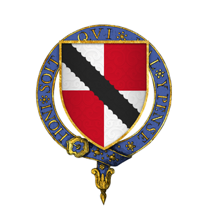 Neil Loring - Image: Coat of Arms of Sir Nele Loring, KG