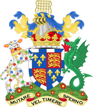 Duke of Beaufort - Image: Coat of arms of the dukes of Beaufort