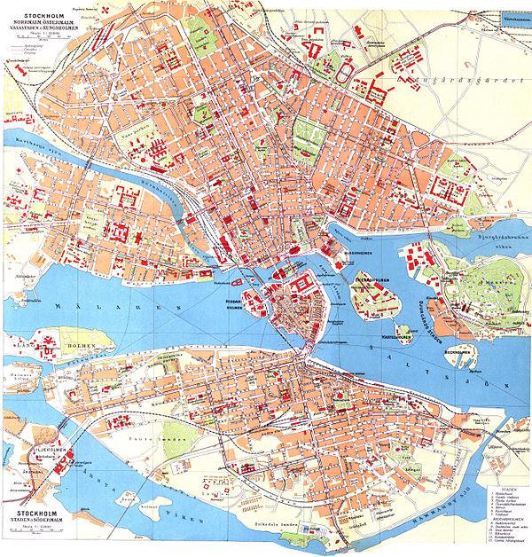 Historiska Kartor Over Stockholm Wikipedia