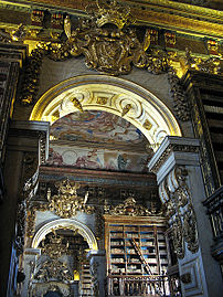 Library of Coimbra University, Portugal