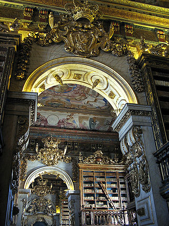 Baroque Library of the Coimbra University,Portugal CoimbraUniLibrary-CCSA.jpg