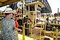 Col Cross visits the Mat Sinking Unit near Worthington, LA (10019415745).jpg