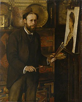 Collier, Marion - Portrait of John Collier - circa 1882-1883.jpg