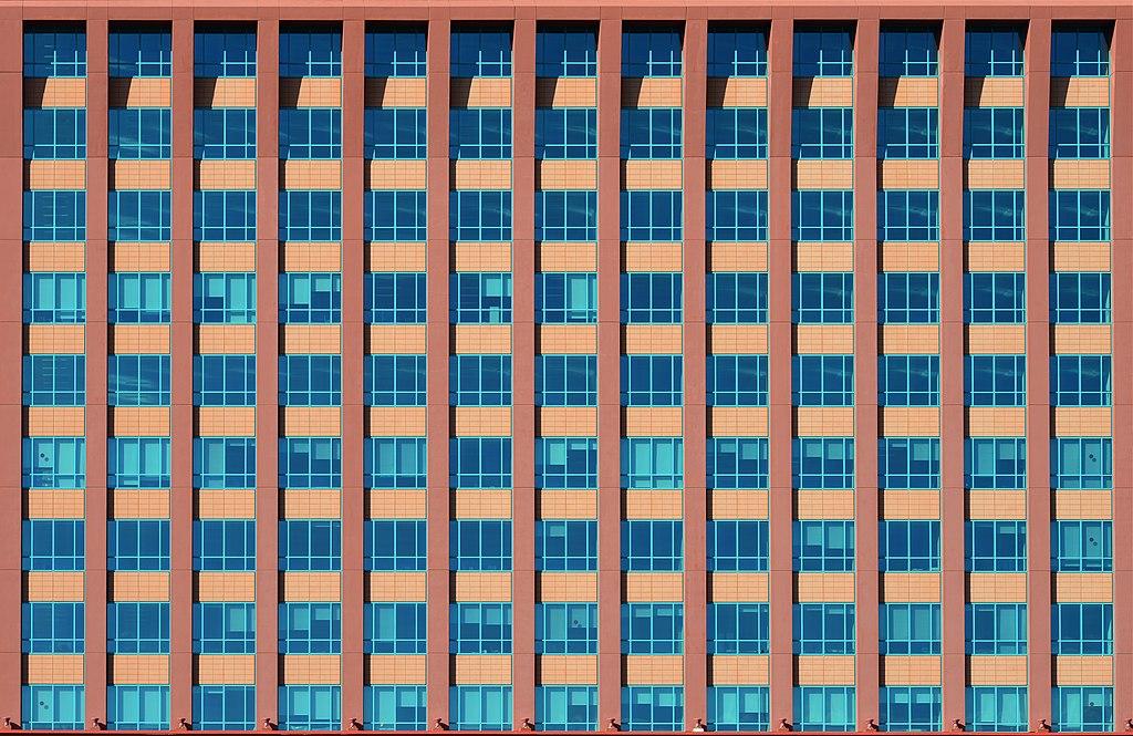 Façade du Colombo Centre, un centre commercial de Lisbone - photo de Alvesgaspar