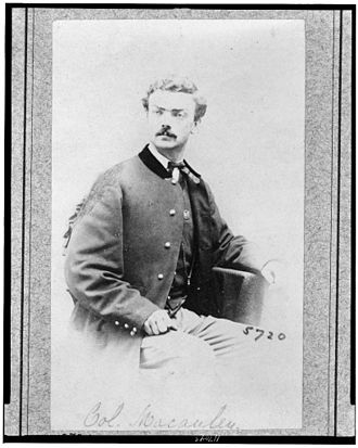Daniel McCauley - Image: Colonel Daniel Macauley