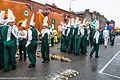 Colorado State University Marching Band, Colorado, USA - Getting Ready For The 2013 Patrick's Day Parade (8565850929).jpg