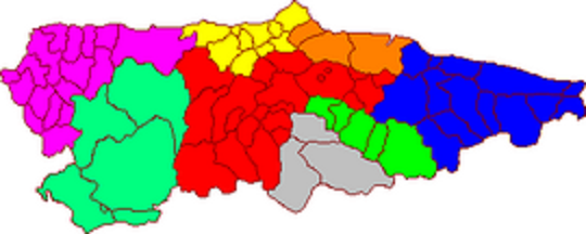 Comarcas of Asturias