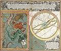 Cometa qui anno Christi 1742 apparuit ex observationibus a die 13 Marty usque ad 15 Aprilis by Matthäus Seutter.jpg