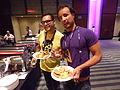 Comida mexicana en Wikimanía 2015 14.JPG