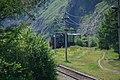Commuter train of Circum-Baikal Railway, TEM2-5419 (31462542643).jpg