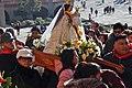Con la Virgen del Quinche (Ecuador) en Torreciudad 2017 - 032 (38471716222).jpg