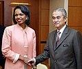 Condoleezza Rice et Abdullah Ahmad Badawi.jpg