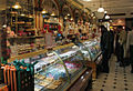 Confectionery counter, Harrods Food Hall, London.jpg
