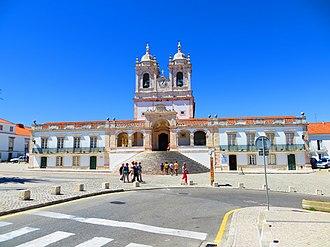 Nazaré, Portugal - The Sanctuary of Our Lady of Nazaré.