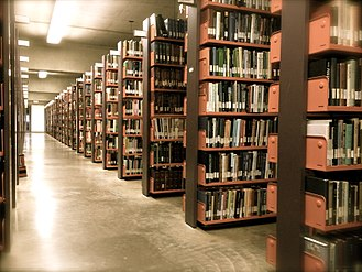 D. B. Weldon Library - Stacks at the Weldon Library