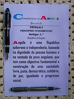 Constitution of Angola