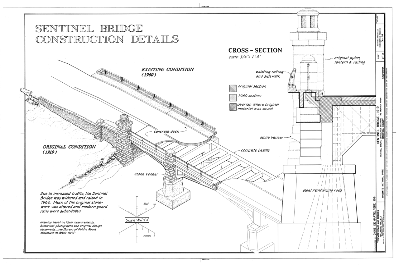 File Construction Details Sentinel Bridge Spanning