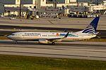 Copa Airlines, Boeing 737-800, HP-1827CMP (15861029465).jpg